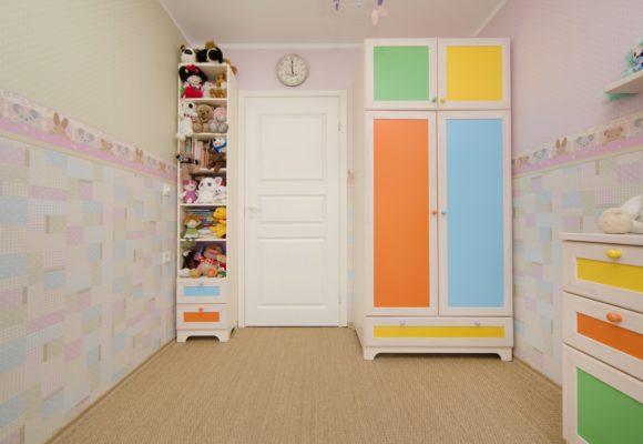 Детская для девочки. Квартира в Таллинне