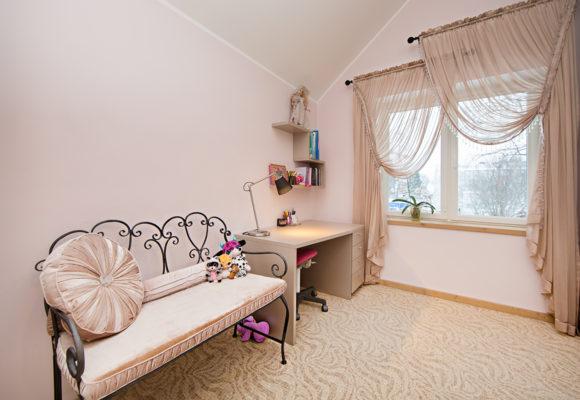 Детская для девочки. Частный дом в Таллинне